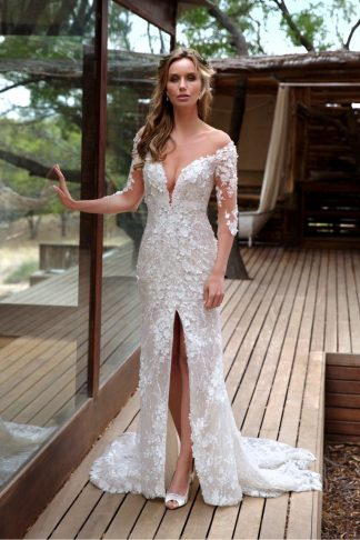 10017-B6 Tulle+Lace