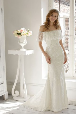 20072-B6 Satin+Tulle+Lace