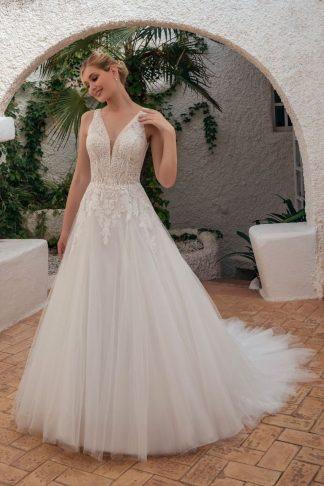 20099-D6 Tulle+Organza