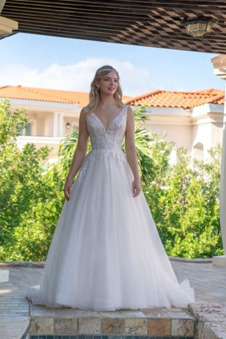 20138-D7 Shining Tulle