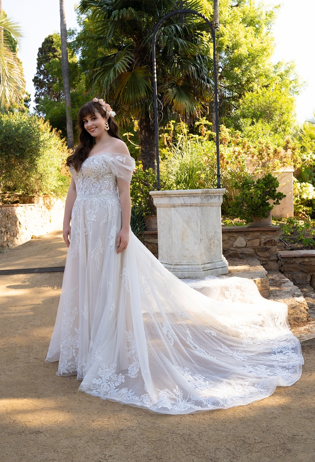 30063W-D11-BE Tulle