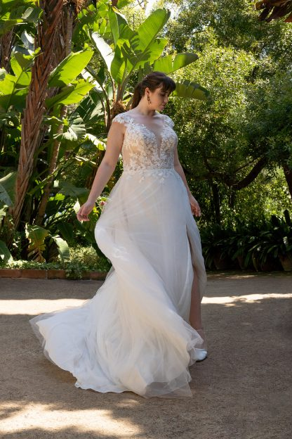 30071W-D11-BE Tulle